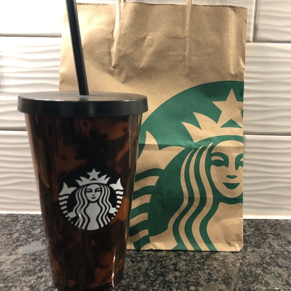 Starbucks Other - Starbucks Tortoise Shell 16oz Tumbler